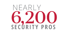 Nearly 4000 Security Pros